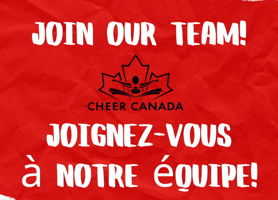 Cheer Canada Director Nomination Information