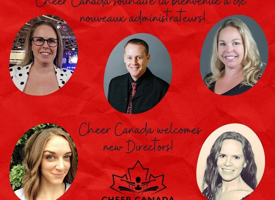 Cheer Canada Welcomes New Directors